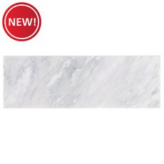 New! Solco White Polished Marble Tile