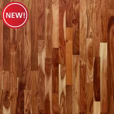 New! Foley Acacia Smooth Solid Hardwood