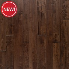 New! Hevea Meno Distressed Solid Hardwood