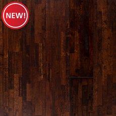 New! Hevea Komodo Distressed Solid Hardwood