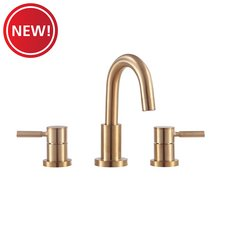 New! Matte Gold 8 in. Widespread Faucet