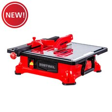 New! Sentinel 7in. Jobsite Wet Saw