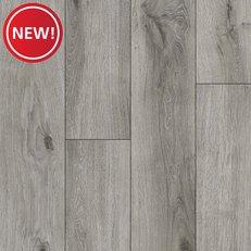 New! Silver Gray Luxury Vinyl Plank