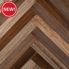 New! Axis Herringbone Hand Scraped Engineered Stranded Bamboo