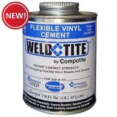 New! Compotite Weld Tite Flexible Vinyl Cement