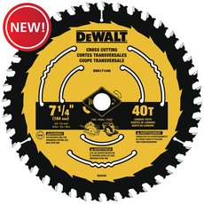 New! DeWalt 7-1/4 in. 40T Saw Blade