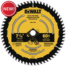 New! DeWalt 7-1/4 in. 60T Saw Blade