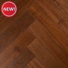 New! Mirada Oak Herringbone Water-Resistant Engineered Hardwood