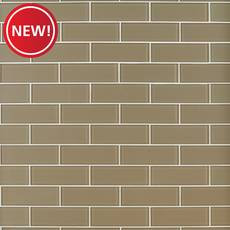 New! Fawn Glass Tile