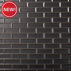 New! Frosted Lilac Glass Tile