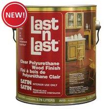 New! Satin Polyurethane Abs 50104 Wood Stain