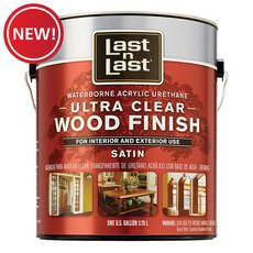 New! Satin Waterborne Abs 13101 Wood Stain
