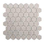 Wicker Park 2 in. Hexagon Glass Mosaic