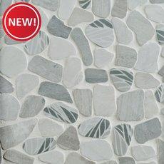 New! Havana Tumbled Pebble Mosaic
