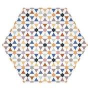 Moroccan Multi Matte Porcelain Tile