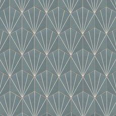 Silver Starburst Encaustic Cement Tile