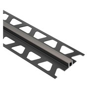 Schluter Dilex-Bwb Movement Joint 5/16in. PVC Dark Anthracite