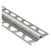 Schluter Dilex-Bwa Perimeter Joint 3/16in. PVC Stone Gray