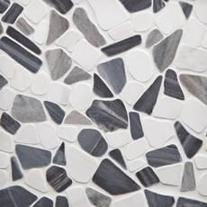 Paradiso Dolomite Honed Pebble Mosaic