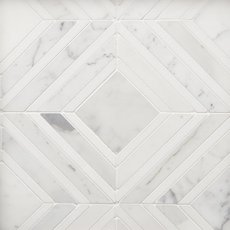 Spectra Calacatta Thassos Polished Marble Mosaic