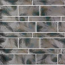 Isola Bella Linear Glass Mosaic