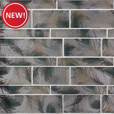 New! Isola Bella Linear Glass Mosaic
