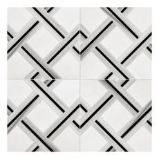 Nexes Dolomite Skyfall Polished Marble Mosaic