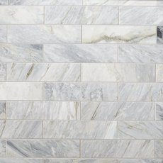 Calacatta Bluette Polished Marble Tile