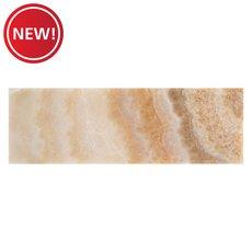 New! Onyx Brushed Travertine Tile