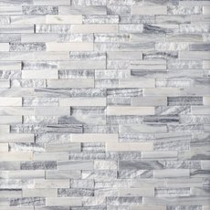 Geneva Mixed Marble Ledger Panel