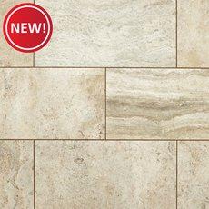 New! Sonoma River Polished Travertine Tile