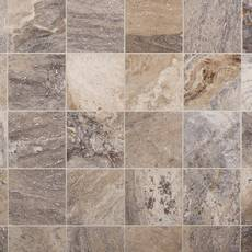 Argento II Honed Travertine Tile