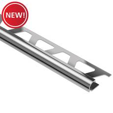 New! Schluter Rondec Bullnose 3/8in. x 10ft. Chrome