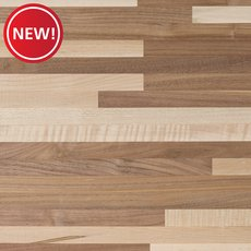 New! Walnut Maple Mix Butcher Block Countertop 6ft