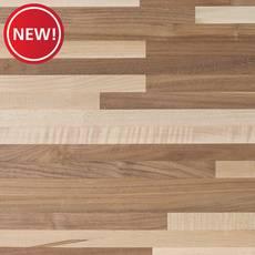 New! Walnut Maple Mix Butcher Block Island 6ft
