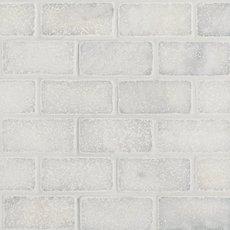 Chateau Brick Tumbled Carrara Marble Mosaic