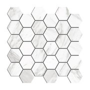 Cesari III Matte Hexagon Porcelain Mosaic