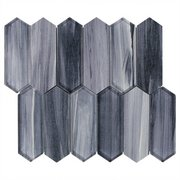 Twilight Picket Glass Mosaic