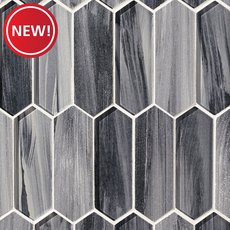 New! Twilight Picket Glass Mosaic