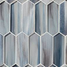 Daybreak Picket Glass Mosaic