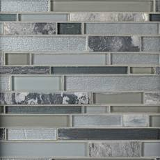 Luna Linear Glass Mosaic