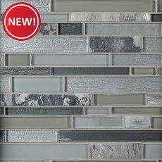 New! Luna Linear Glass Mosaic