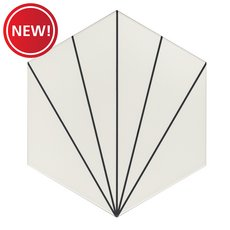 New! Kavala White Matte Porcelain Tile