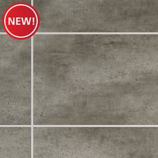 New! Staccato Stone Rigid Core Luxury Vinyl Tile - Cork Back