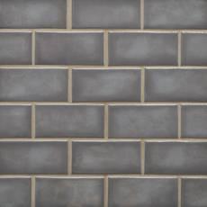 La Belle Nimbus Fog 2 x 4 in. Brick Ceramic Mosaic