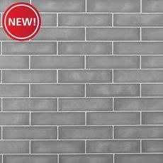 New! La Belle Nimbus Fog Polished Ceramic Tile