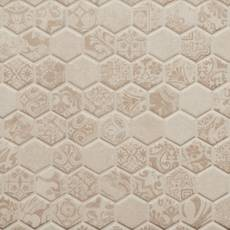 Definitive Warm Stone 1.5 in. Hexagon Ceramic Mosaic