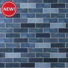 New! Zellige Zirconium Polished Ceramic Tile
