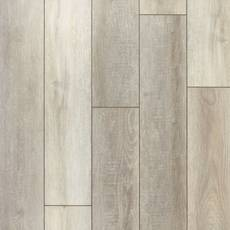 Empire Grey Oak Rigid Core Luxury Vinyl Plank - Cork Back