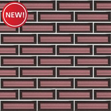 New! Merlot Vetro Glass Mosaic